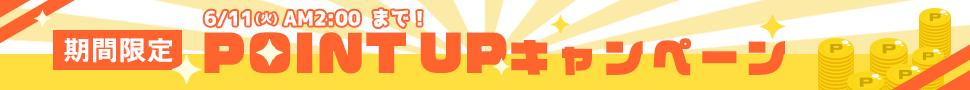 ポイントUP 6/11(火)AM2時まで